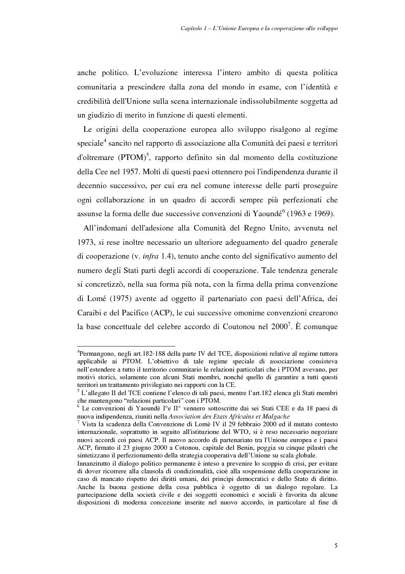 Anteprima della tesi: La cooperazione allo sviluppo dell'Unione europea con l'Asia, Pagina 5