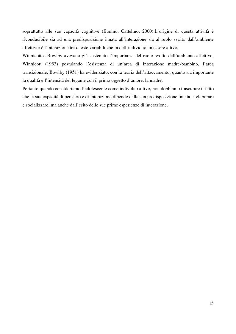 Anteprima della tesi: Il bullismo adolescenziale. Uno studio condotto nel sulcis iglesiente, Pagina 11