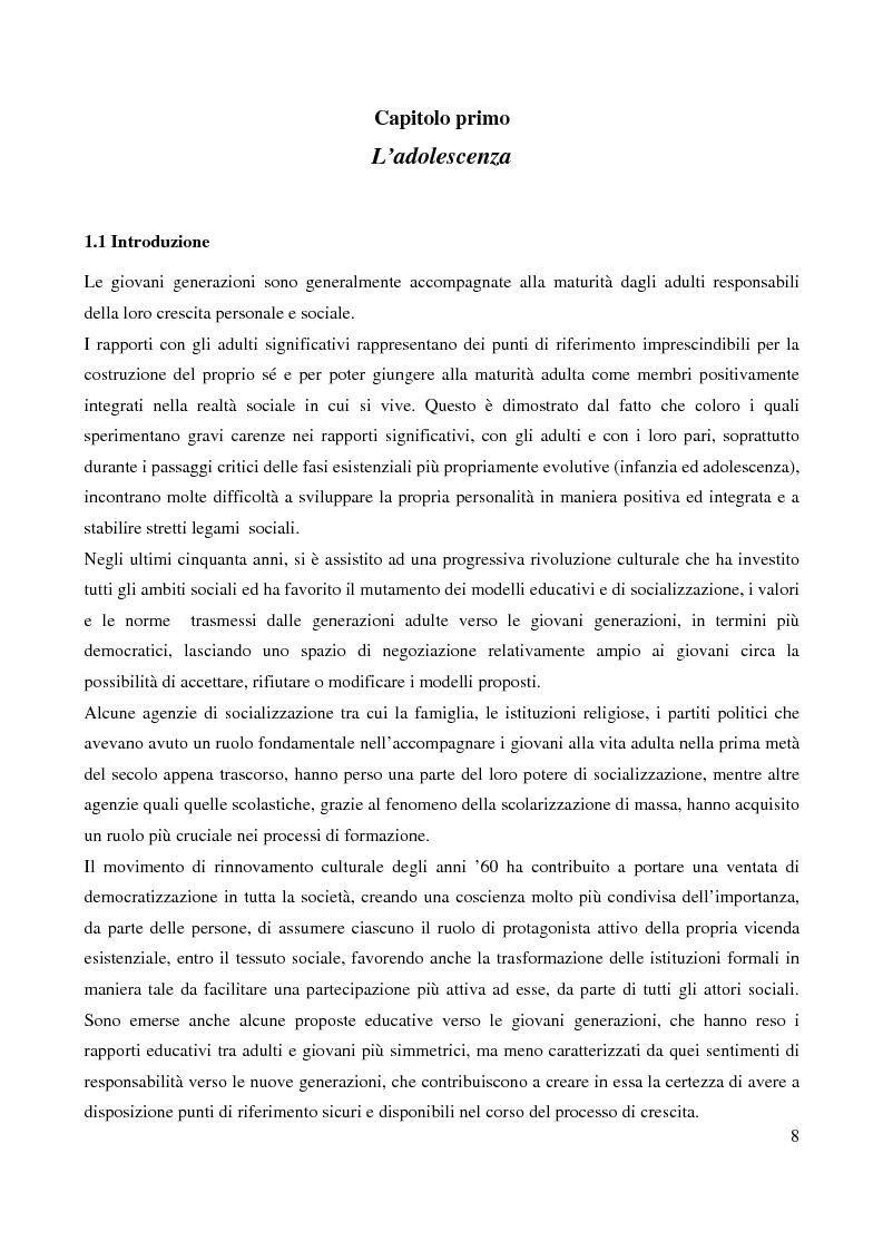 Anteprima della tesi: Il bullismo adolescenziale. Uno studio condotto nel sulcis iglesiente, Pagina 4