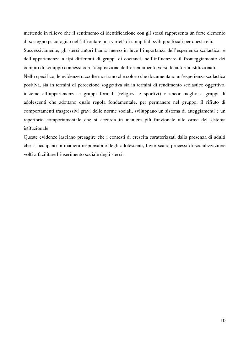 Anteprima della tesi: Il bullismo adolescenziale. Uno studio condotto nel sulcis iglesiente, Pagina 6