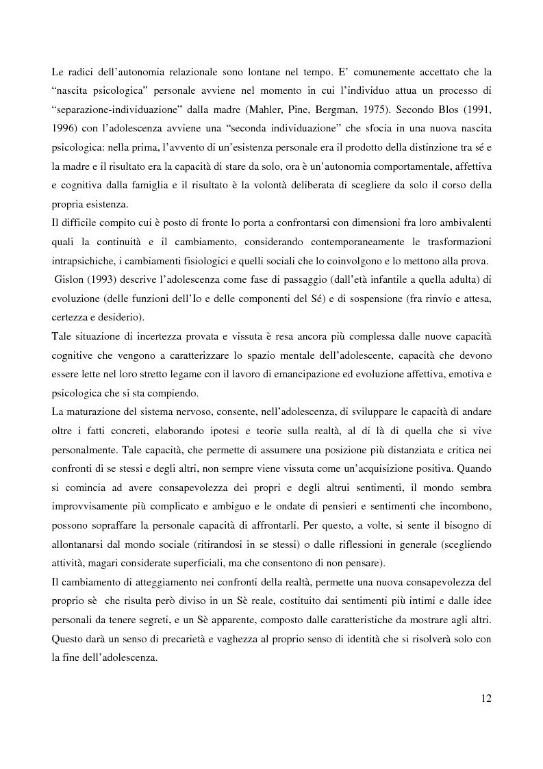 Anteprima della tesi: Il bullismo adolescenziale. Uno studio condotto nel sulcis iglesiente, Pagina 8