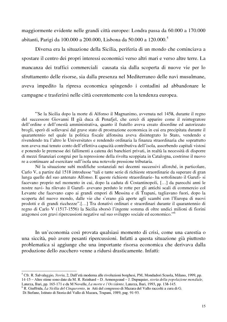 Anteprima della tesi: La luce nella tomba. Fede, ideologie e strategie di fronte alla morte nella Castelvetrano di sec. XVI e XVII, Pagina 10