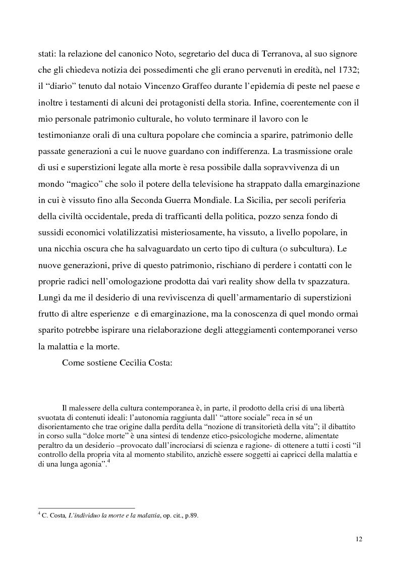 Anteprima della tesi: La luce nella tomba. Fede, ideologie e strategie di fronte alla morte nella Castelvetrano di sec. XVI e XVII, Pagina 7