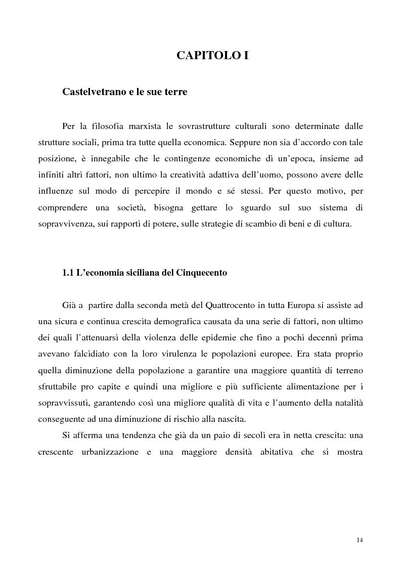 Anteprima della tesi: La luce nella tomba. Fede, ideologie e strategie di fronte alla morte nella Castelvetrano di sec. XVI e XVII, Pagina 9