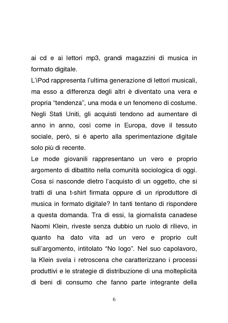 Anteprima della tesi: L'era del podcasting: creatività e vantaggio competitivo nel team Apple, Pagina 3