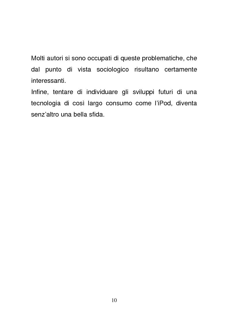 Anteprima della tesi: L'era del podcasting: creatività e vantaggio competitivo nel team Apple, Pagina 7