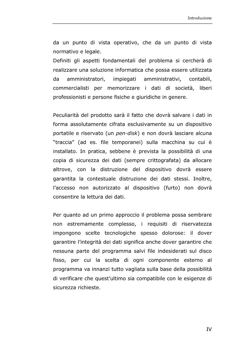 Anteprima della tesi: La sicurezza informatica in applicazioni direzionali: una soluzione per la gestione sicura dei dati nella piccola e media impresa, Pagina 2