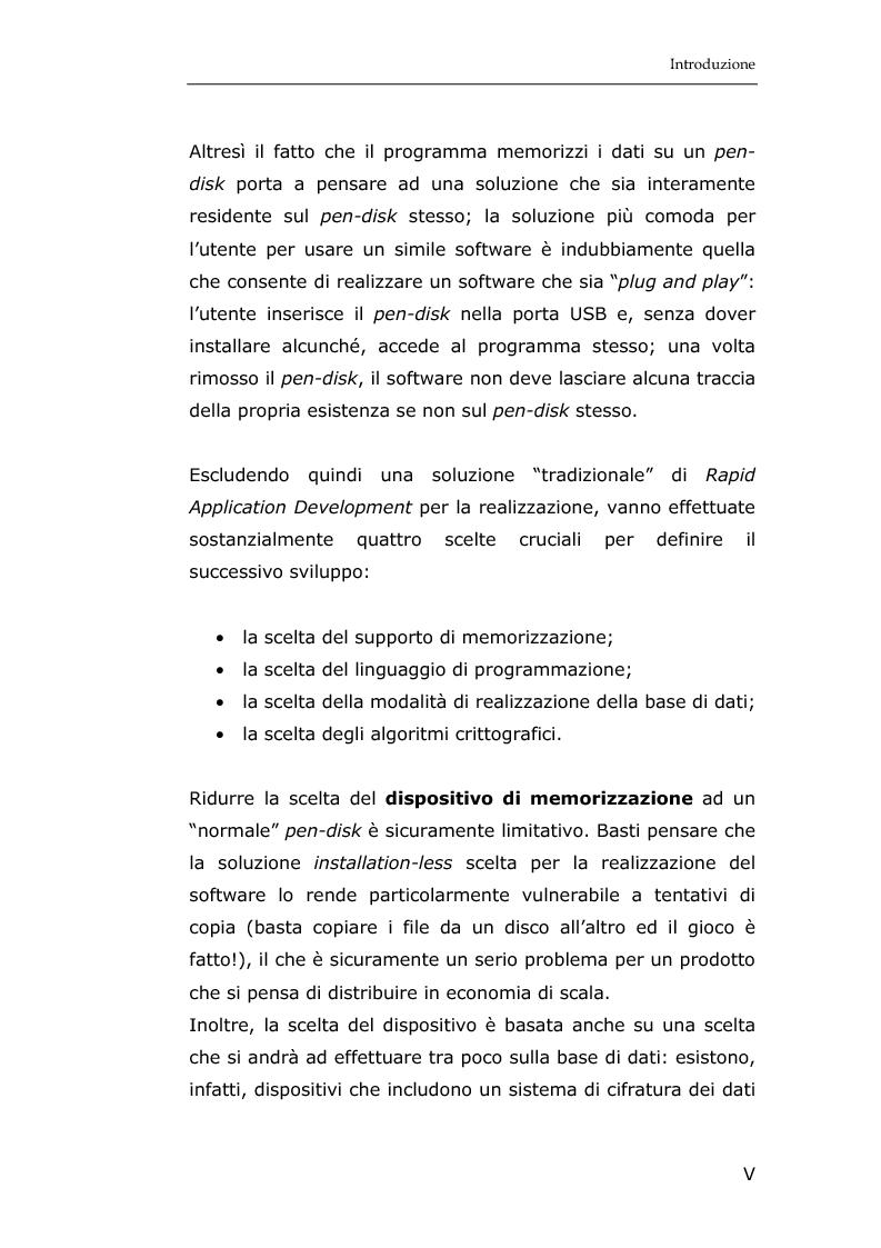 Anteprima della tesi: La sicurezza informatica in applicazioni direzionali: una soluzione per la gestione sicura dei dati nella piccola e media impresa, Pagina 3