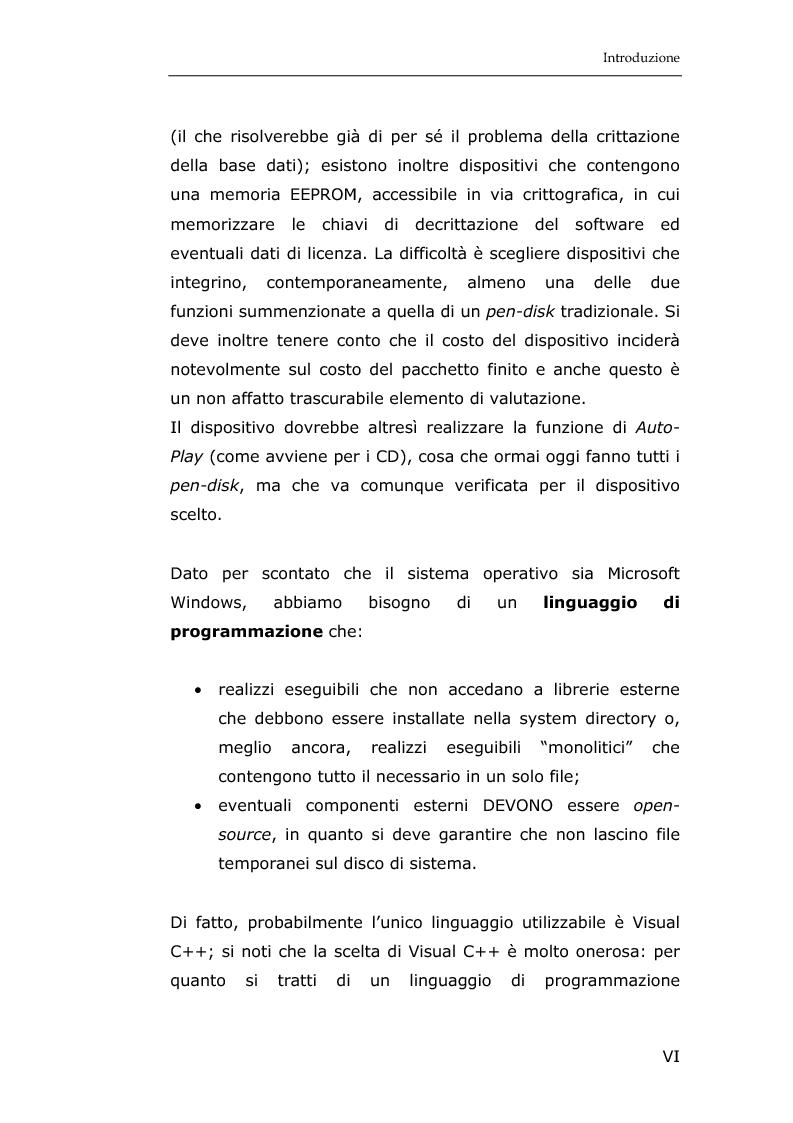 Anteprima della tesi: La sicurezza informatica in applicazioni direzionali: una soluzione per la gestione sicura dei dati nella piccola e media impresa, Pagina 4