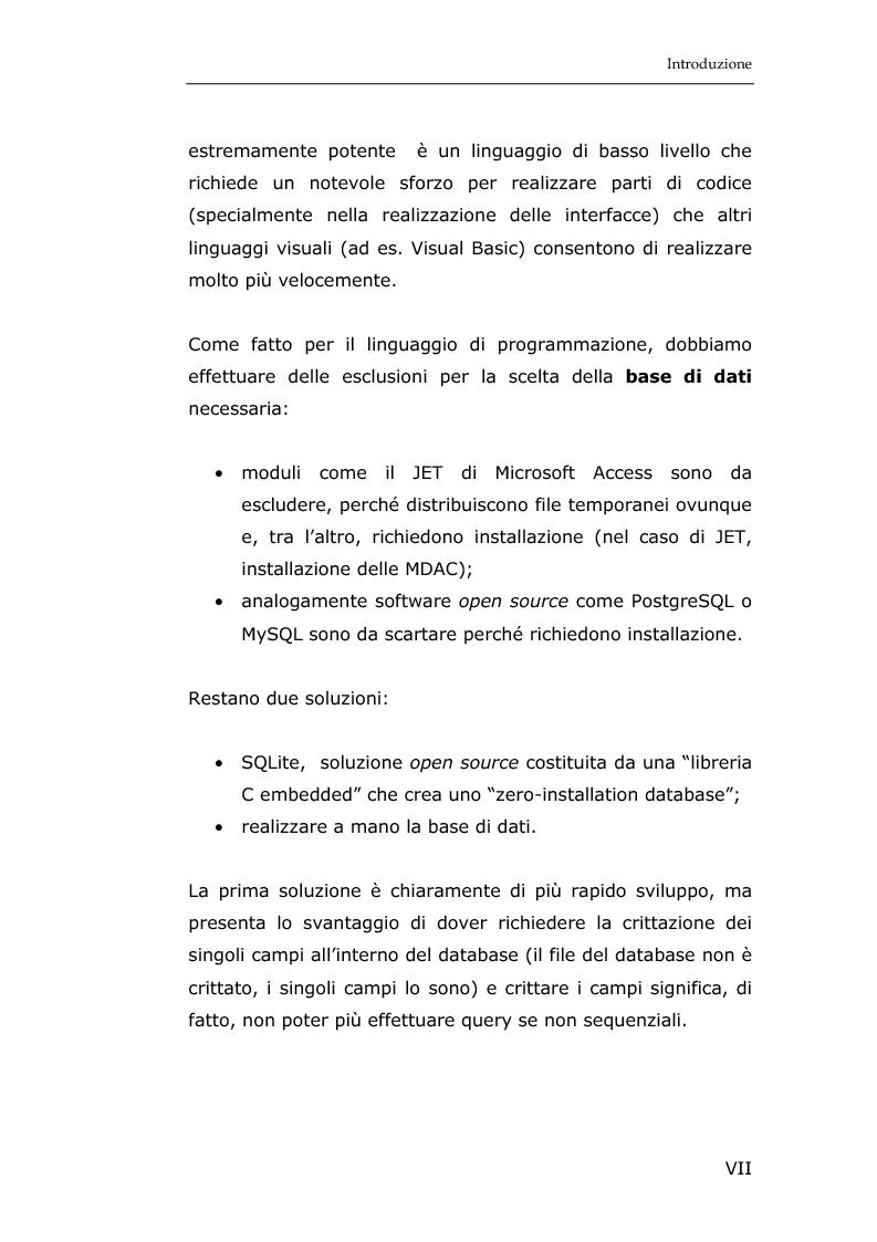 Anteprima della tesi: La sicurezza informatica in applicazioni direzionali: una soluzione per la gestione sicura dei dati nella piccola e media impresa, Pagina 5