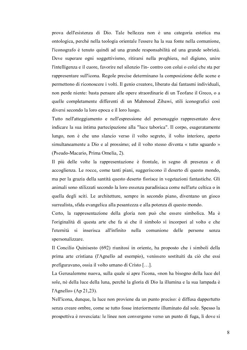 Anteprima della tesi: Le Icone Bizantine, Pagina 8