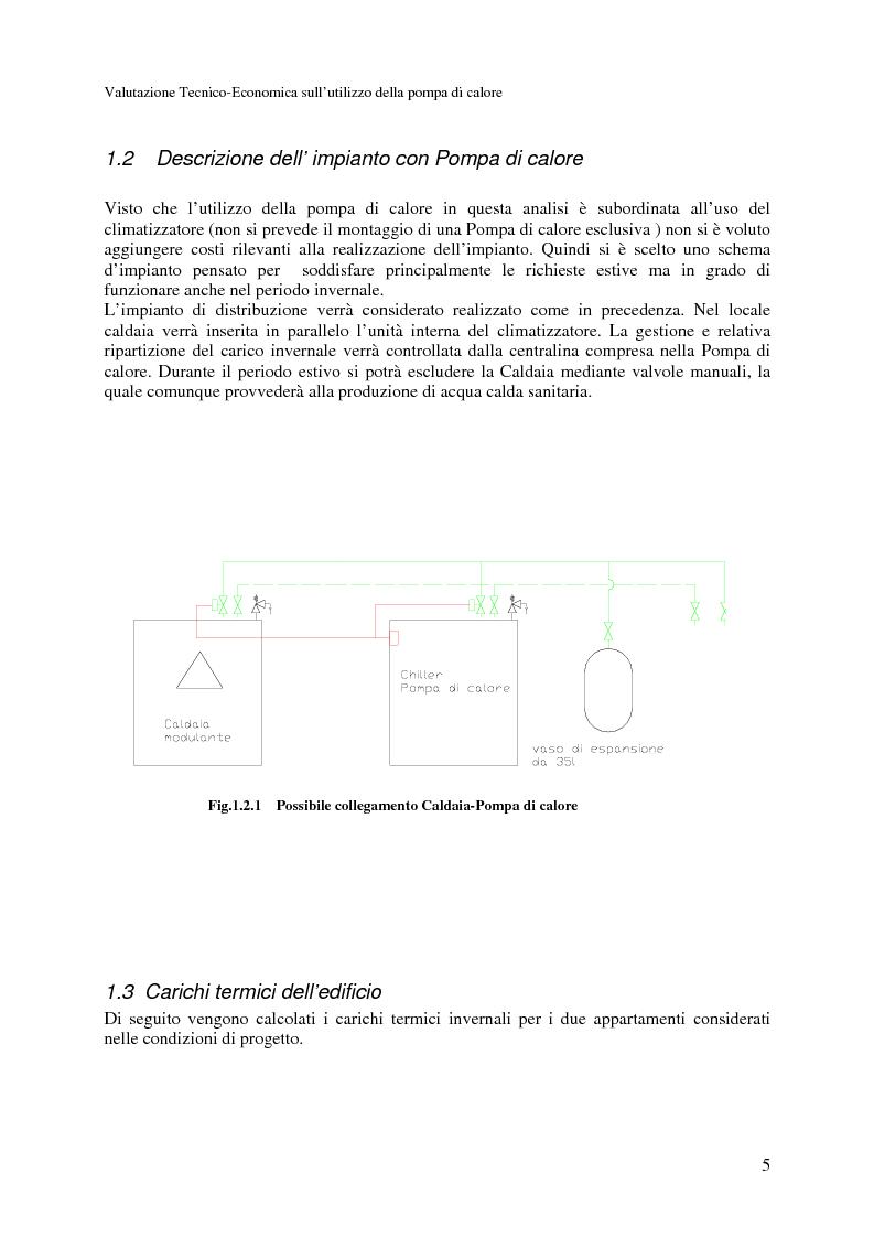 Anteprima della tesi: Valutazione Tecnico-Economica sull'utilizzazione delle pompe di calore nel riscaldamento invernale, Pagina 3