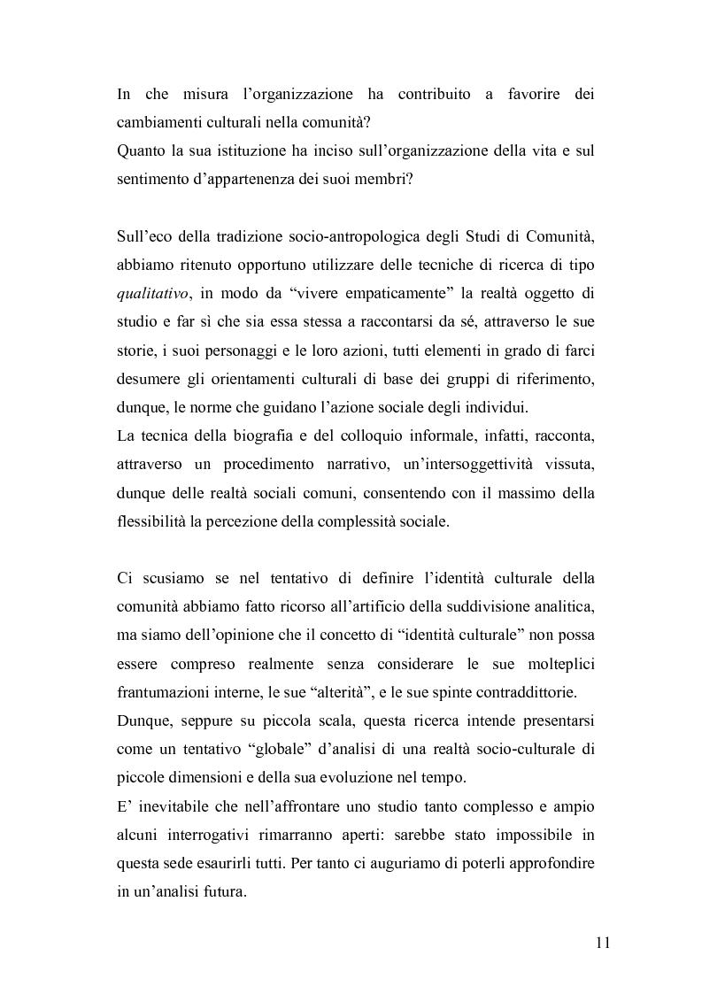 Anteprima della tesi: Derive socioeconomiche e culturali dell'istituzione di un Parco Letterario in una comunità. Il caso di Valsinni., Pagina 4