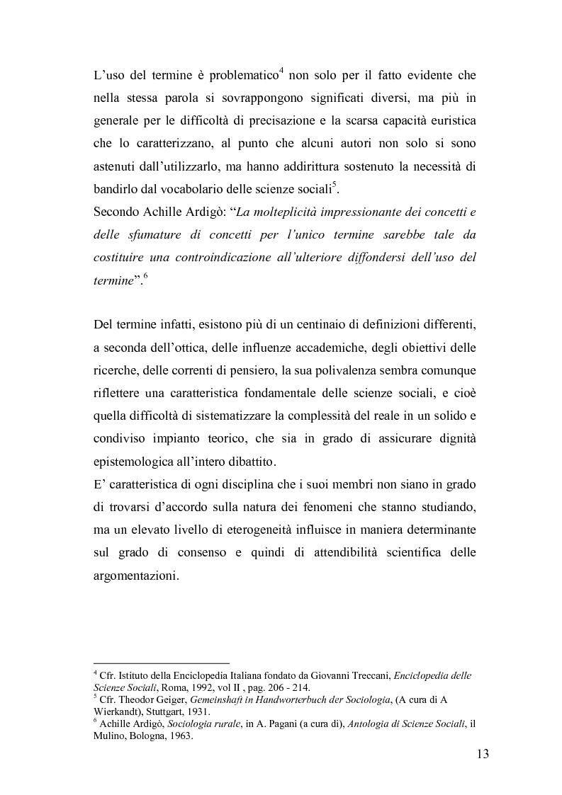 Anteprima della tesi: Derive socioeconomiche e culturali dell'istituzione di un Parco Letterario in una comunità. Il caso di Valsinni., Pagina 6