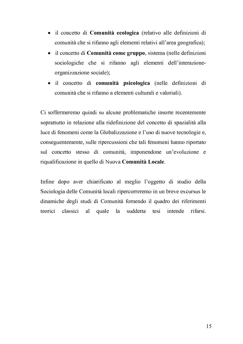 Anteprima della tesi: Derive socioeconomiche e culturali dell'istituzione di un Parco Letterario in una comunità. Il caso di Valsinni., Pagina 8