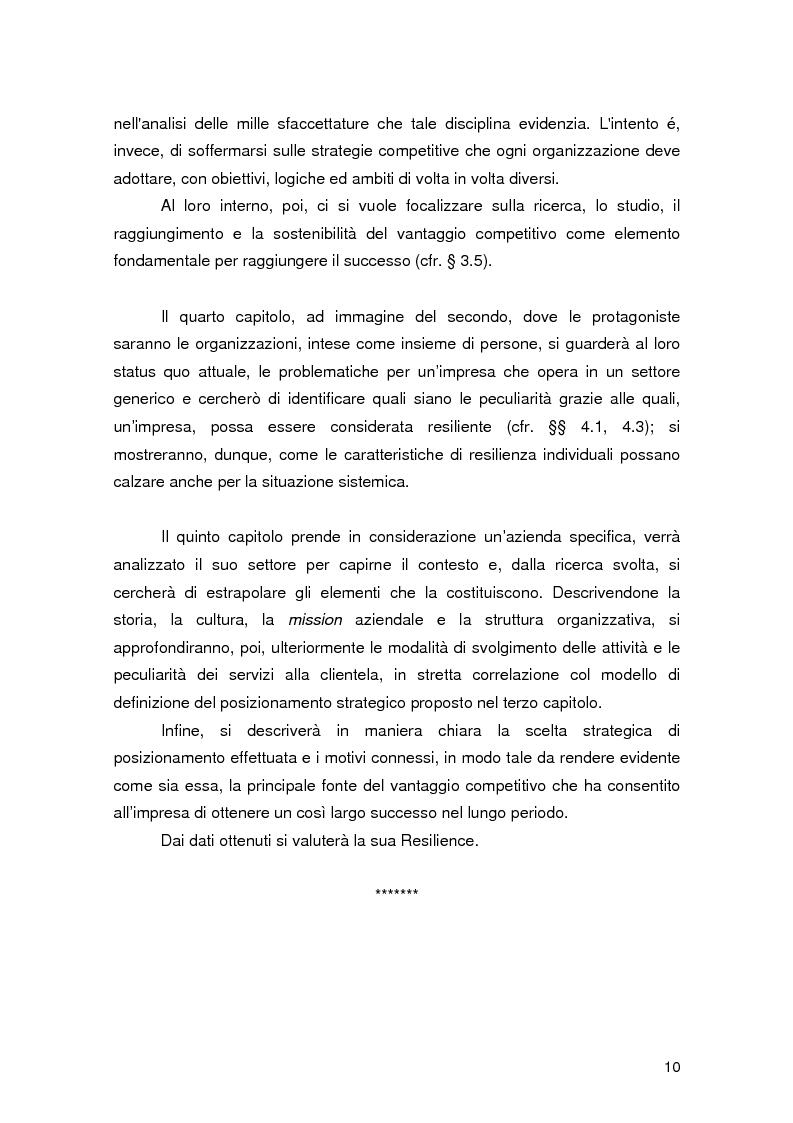 Anteprima della tesi: Resilience individuale e contesto organizzativo: il caso Oracle, Pagina 4