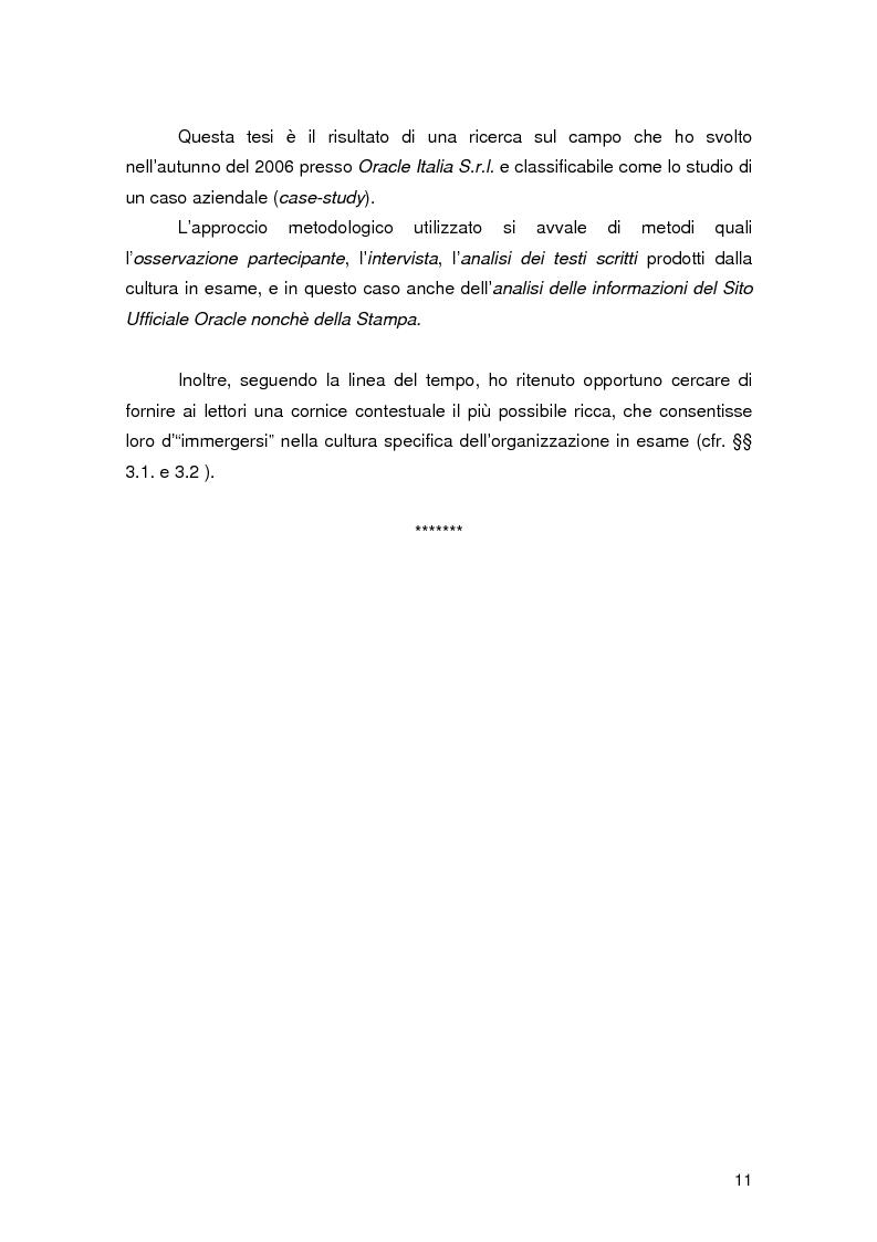 Anteprima della tesi: Resilience individuale e contesto organizzativo: il caso Oracle, Pagina 5