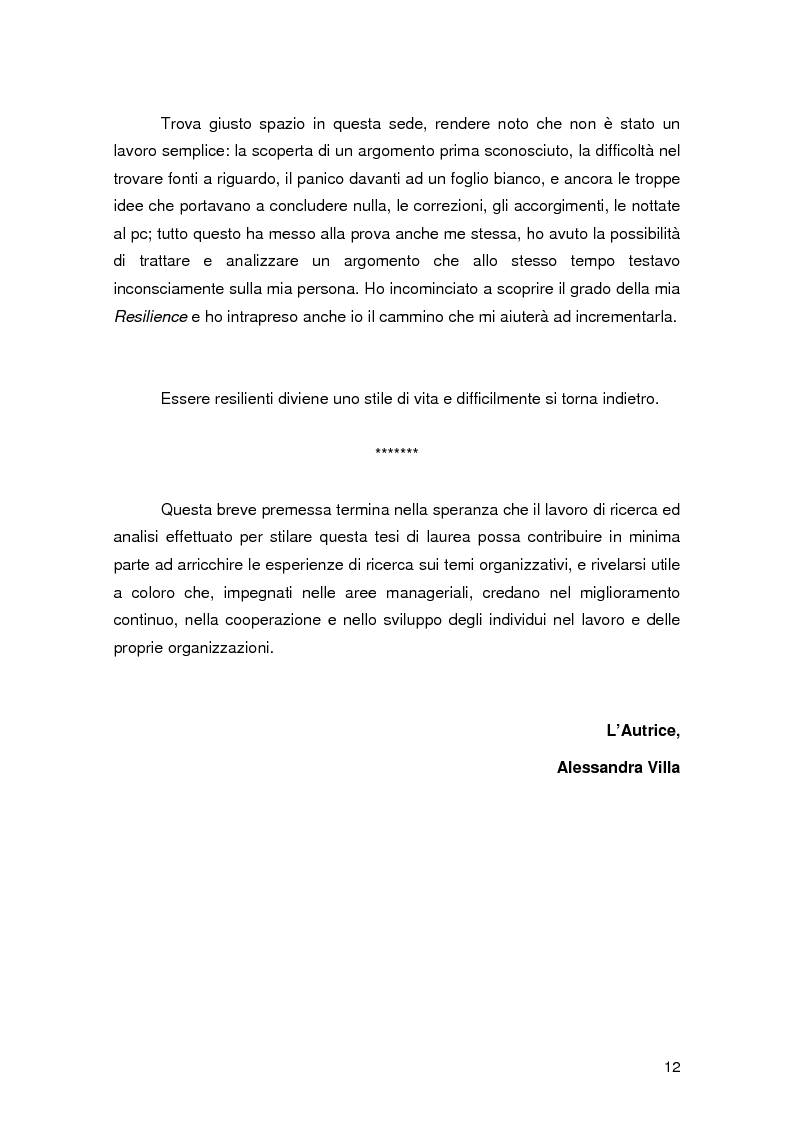 Anteprima della tesi: Resilience individuale e contesto organizzativo: il caso Oracle, Pagina 6