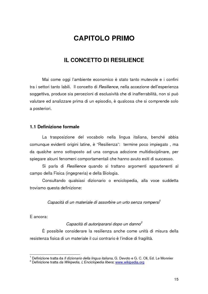 Anteprima della tesi: Resilience individuale e contesto organizzativo: il caso Oracle, Pagina 9