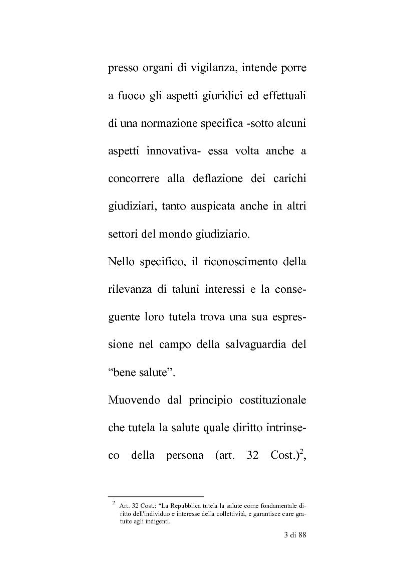 Anteprima della tesi: Delle compentenze della P.A. nella estinzione dei reati contravenzionali in materia di violazione delle norme di igiene e sicurezza del lavoro, Pagina 2