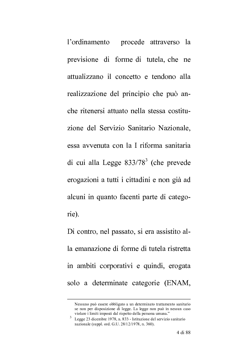 Anteprima della tesi: Delle compentenze della P.A. nella estinzione dei reati contravenzionali in materia di violazione delle norme di igiene e sicurezza del lavoro, Pagina 3