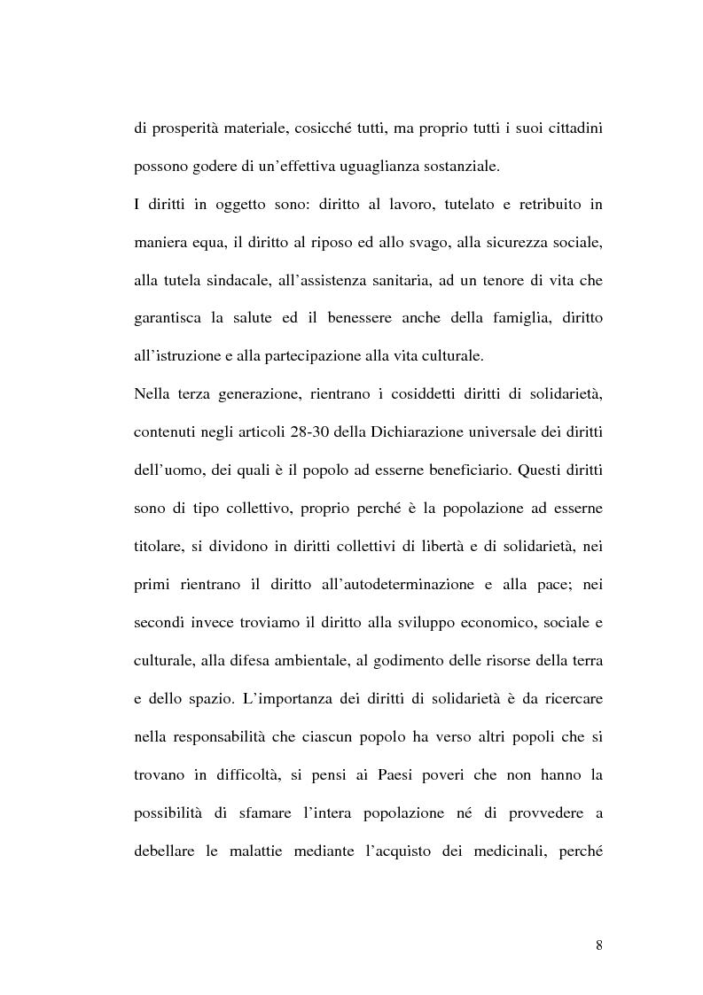 Anteprima della tesi: I diritti dell'uomo nei paesi arabo islamici, Pagina 8