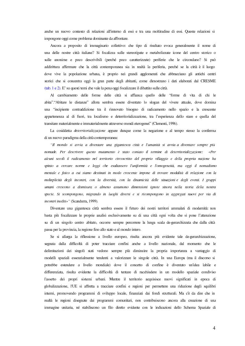Anteprima della tesi: Comunicazione ed integrazione delle politiche per l'attuazione della sostenibilità., Pagina 4
