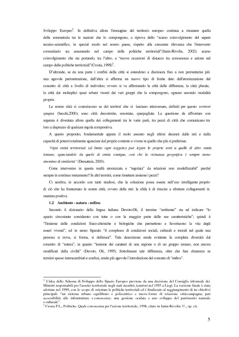Anteprima della tesi: Comunicazione ed integrazione delle politiche per l'attuazione della sostenibilità., Pagina 5