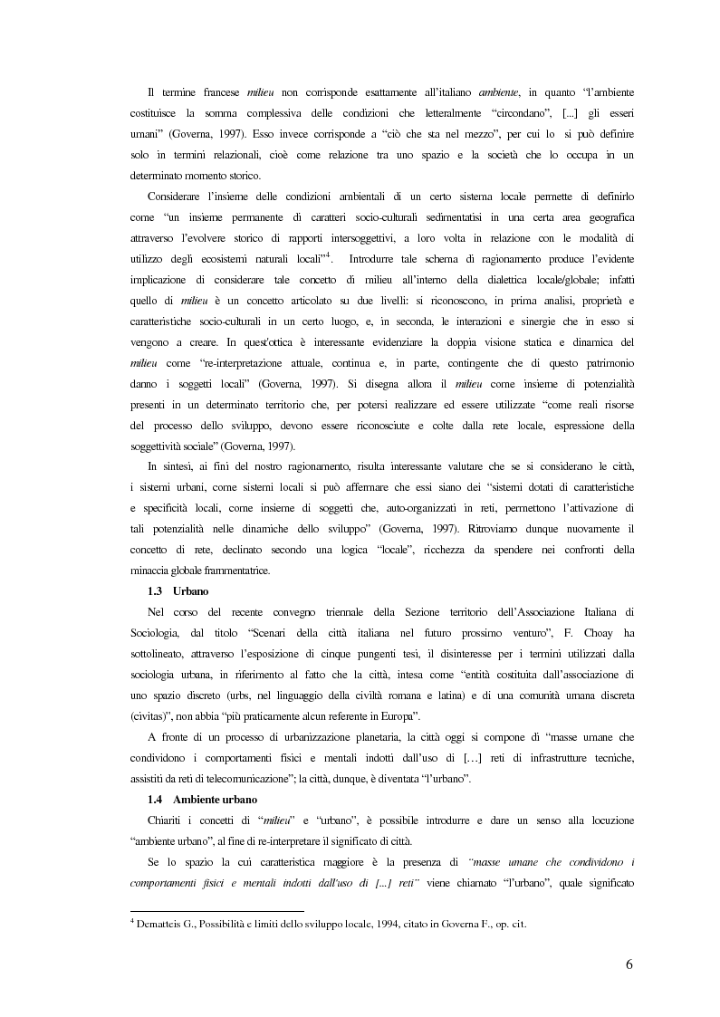 Anteprima della tesi: Comunicazione ed integrazione delle politiche per l'attuazione della sostenibilità., Pagina 6