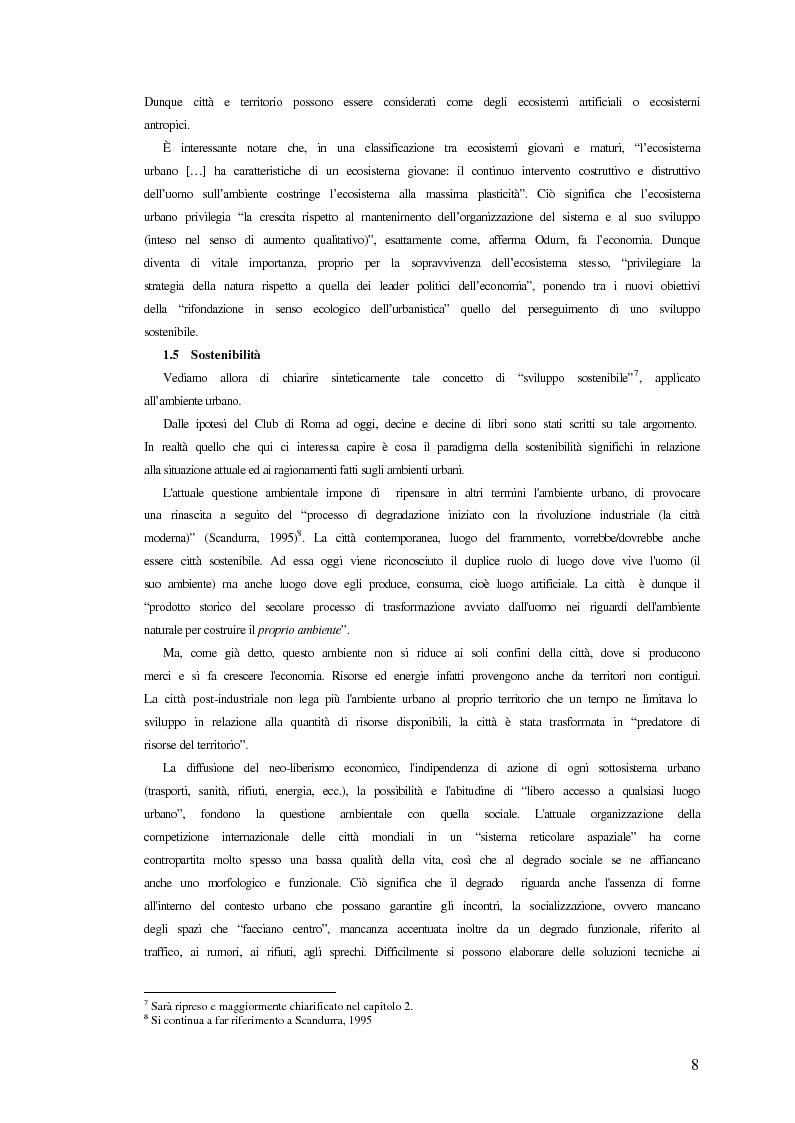 Anteprima della tesi: Comunicazione ed integrazione delle politiche per l'attuazione della sostenibilità., Pagina 8