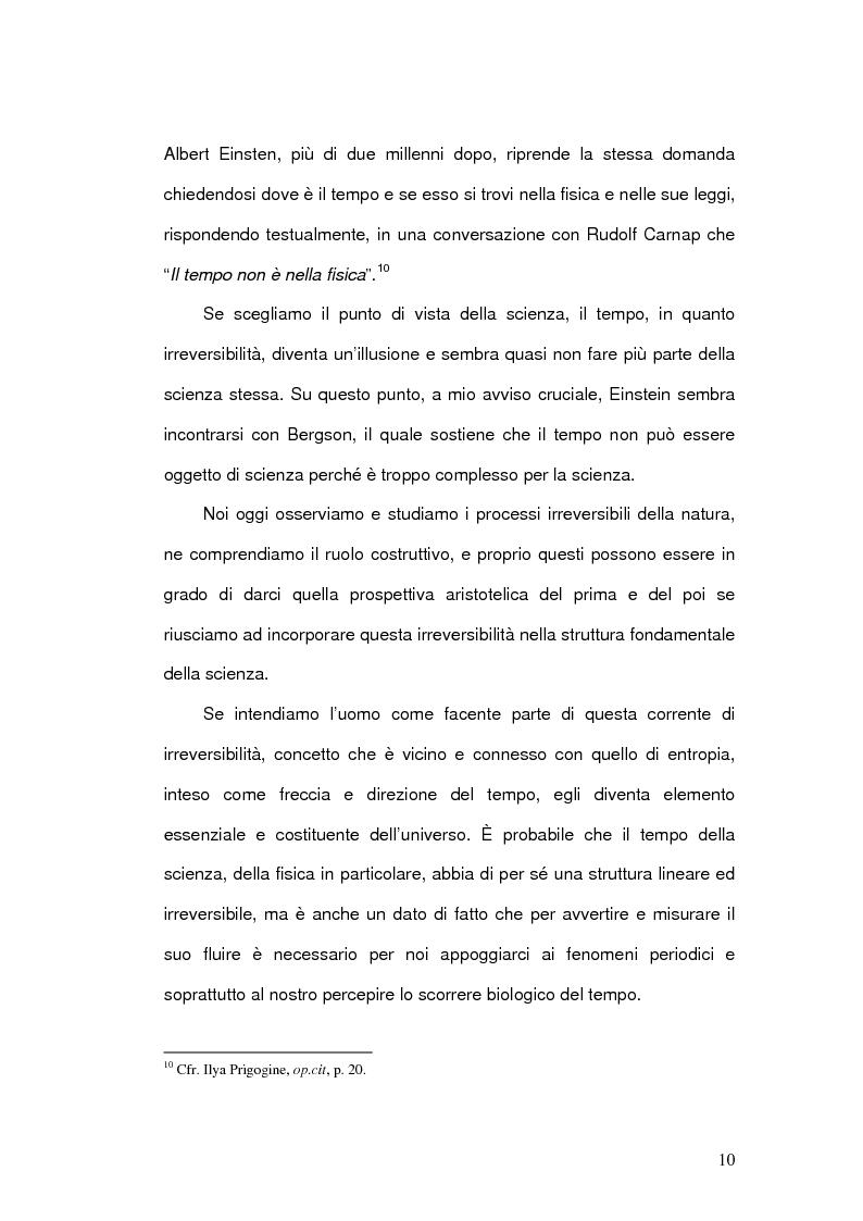 Anteprima della tesi: Il Concetto di tempo nella Teoria della Relatività di Einstein e le sue conseguenze filosofiche, Pagina 10