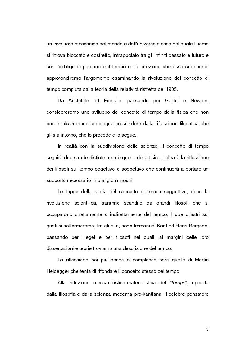 Anteprima della tesi: Il Concetto di tempo nella Teoria della Relatività di Einstein e le sue conseguenze filosofiche, Pagina 7