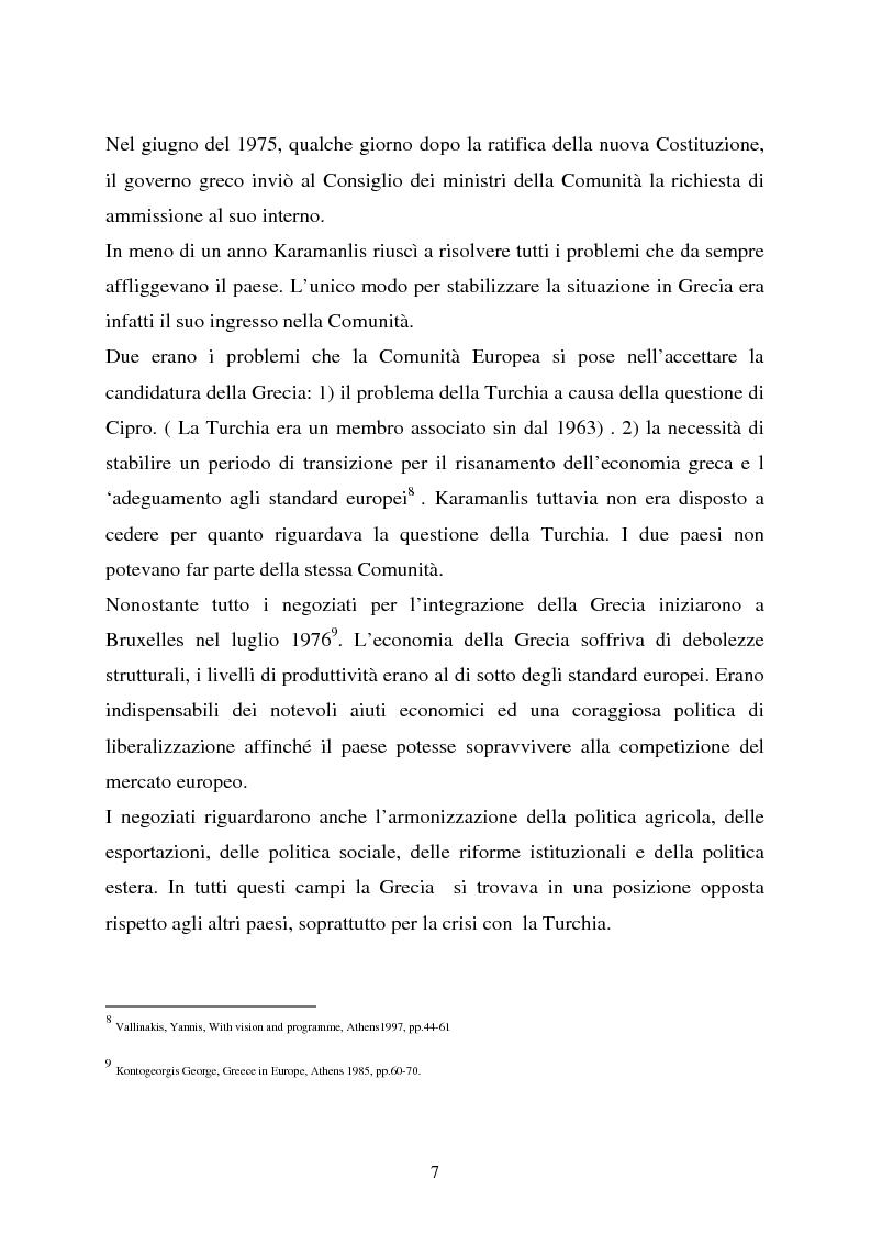 Anteprima della tesi: Le nuove vie della Grecia moderna, Pagina 5