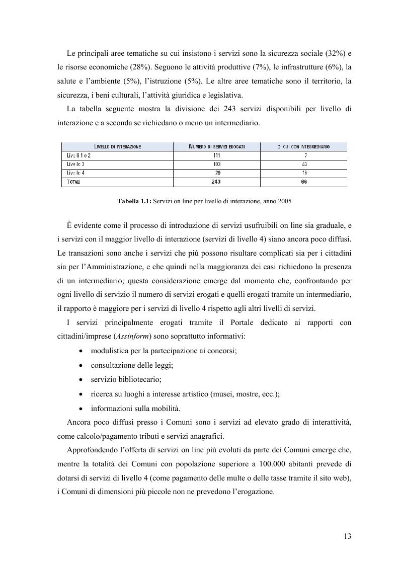 Anteprima della tesi: Lo stato delle Intranet nella Pubblica Amministrazione, Pagina 11