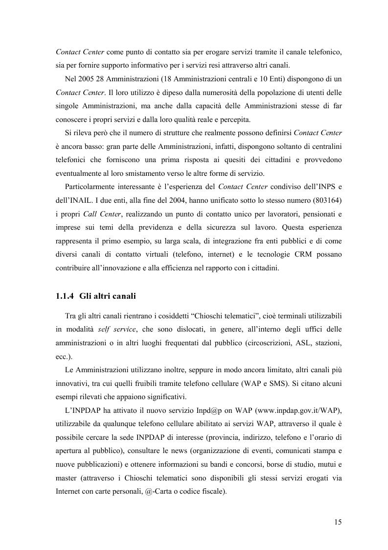 Anteprima della tesi: Lo stato delle Intranet nella Pubblica Amministrazione, Pagina 13
