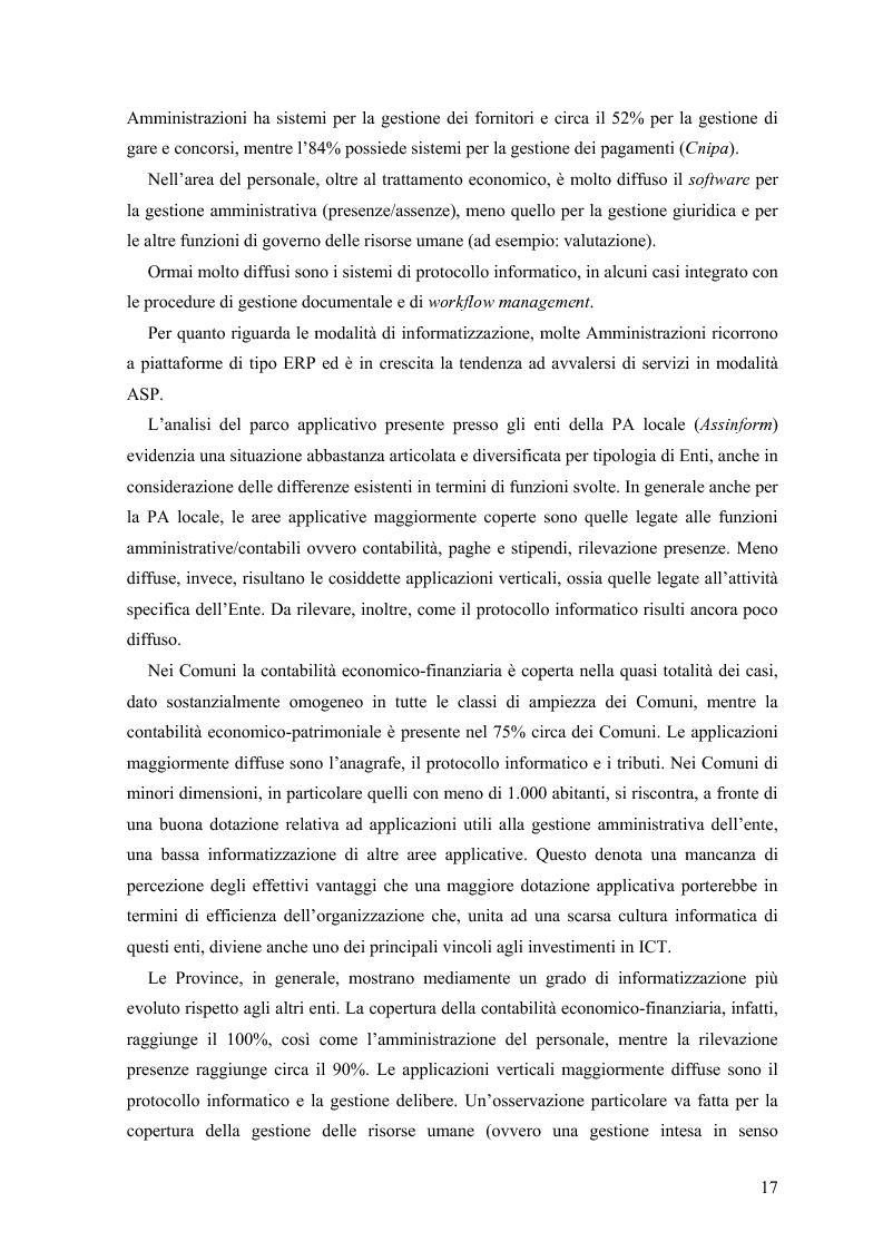 Anteprima della tesi: Lo stato delle Intranet nella Pubblica Amministrazione, Pagina 15