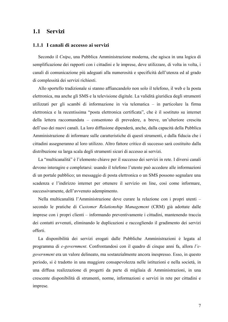 Anteprima della tesi: Lo stato delle Intranet nella Pubblica Amministrazione, Pagina 5