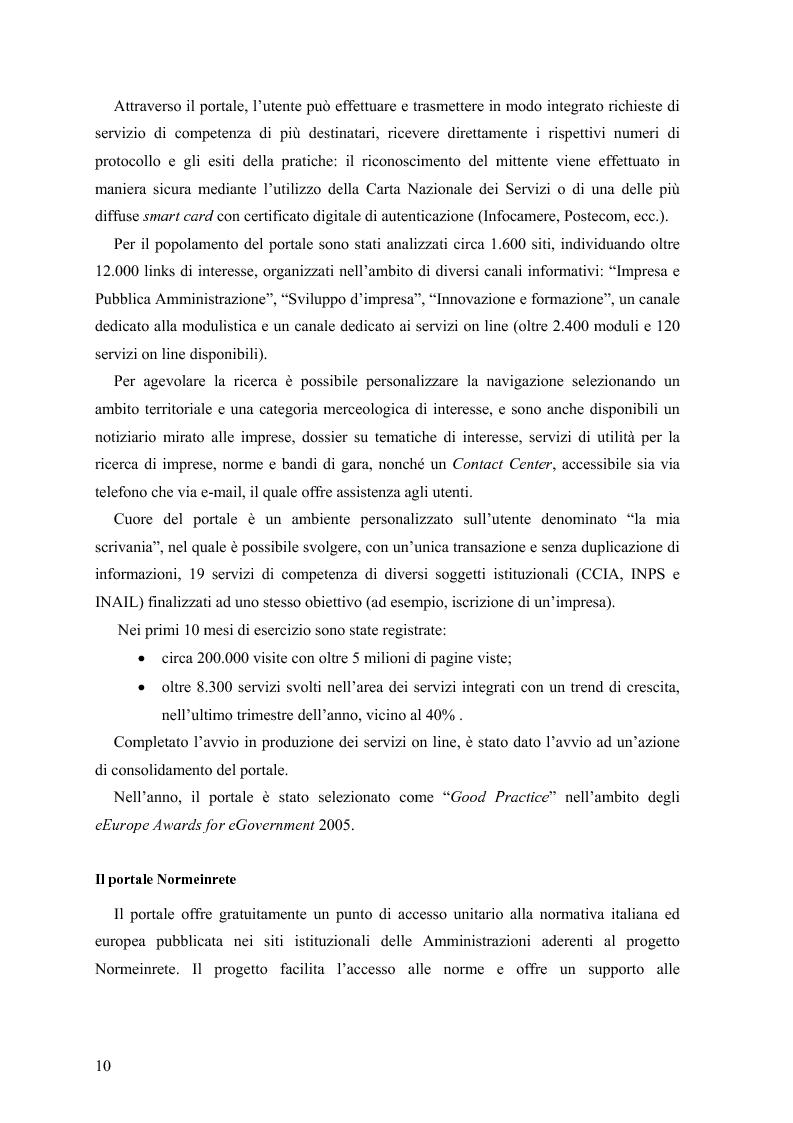 Anteprima della tesi: Lo stato delle Intranet nella Pubblica Amministrazione, Pagina 8