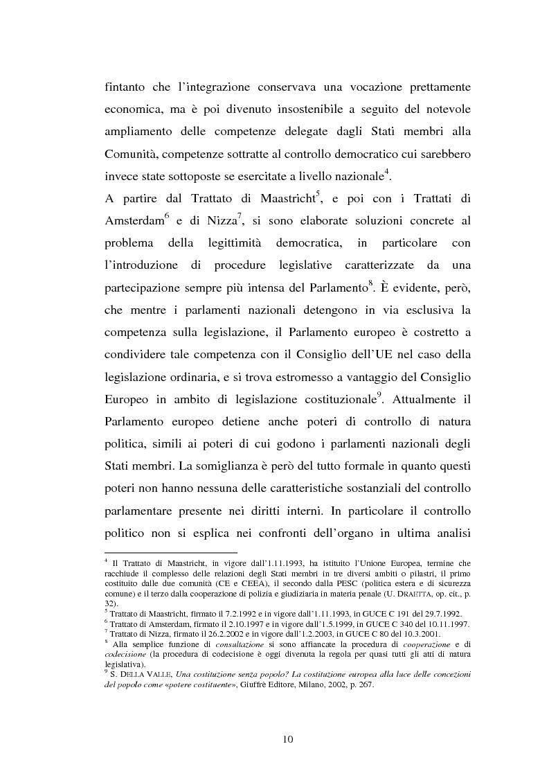 Anteprima della tesi: La comunicazione istituzionale dell'Unione Europea, Pagina 6