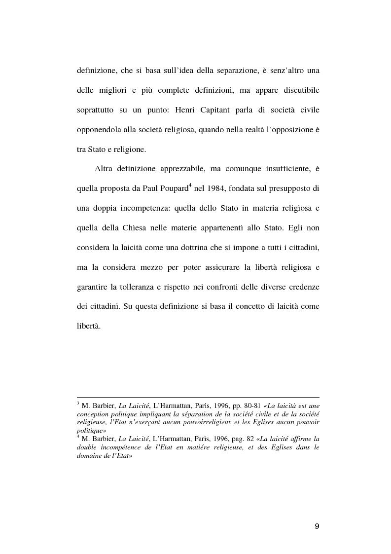 Anteprima della tesi: Simboli religiosi: esposizione del crocifisso alla luce della recente giurisprudenza, Pagina 7