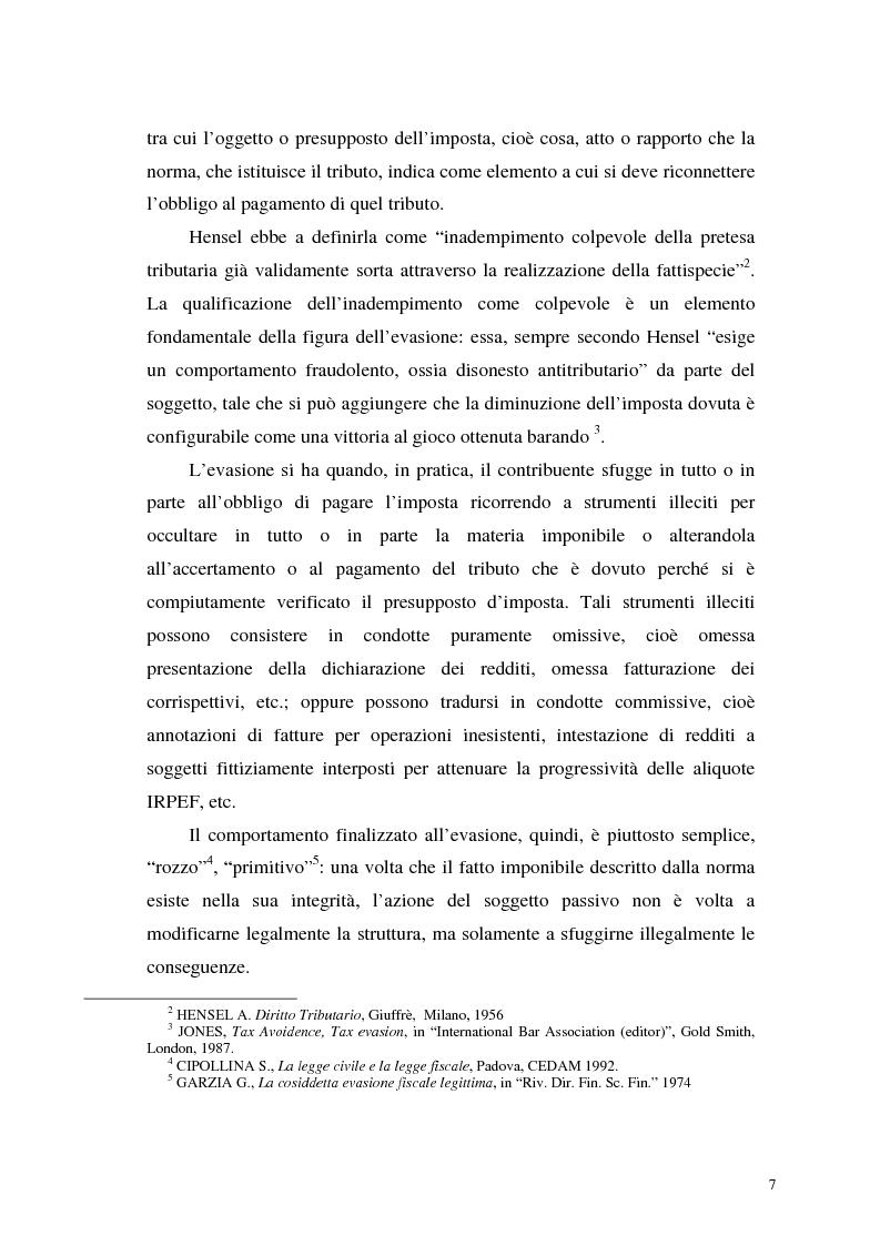 Anteprima della tesi: La normativa tributaria antielusione (art. 37 - bis D.P.R. 600/1973) con particolare riferimento alla scissione di società, Pagina 5