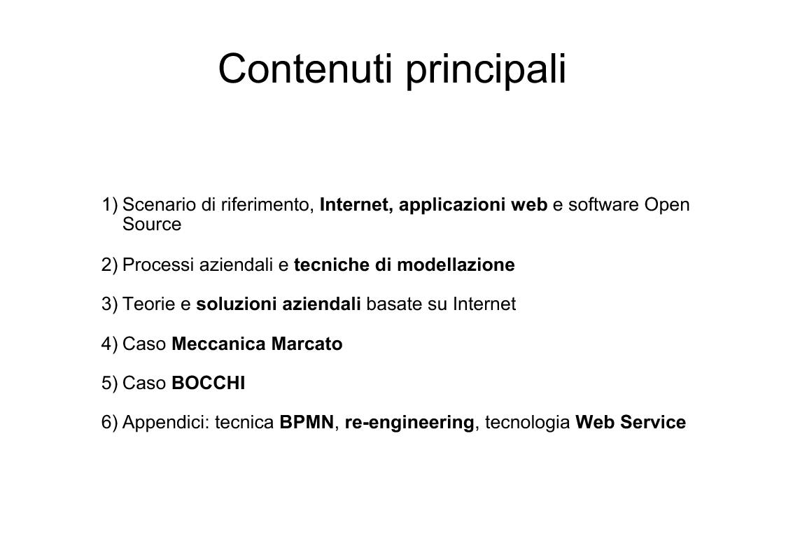 Anteprima della tesi: Applicazioni Internet-based per la gestione dei processi aziendali, Pagina 2