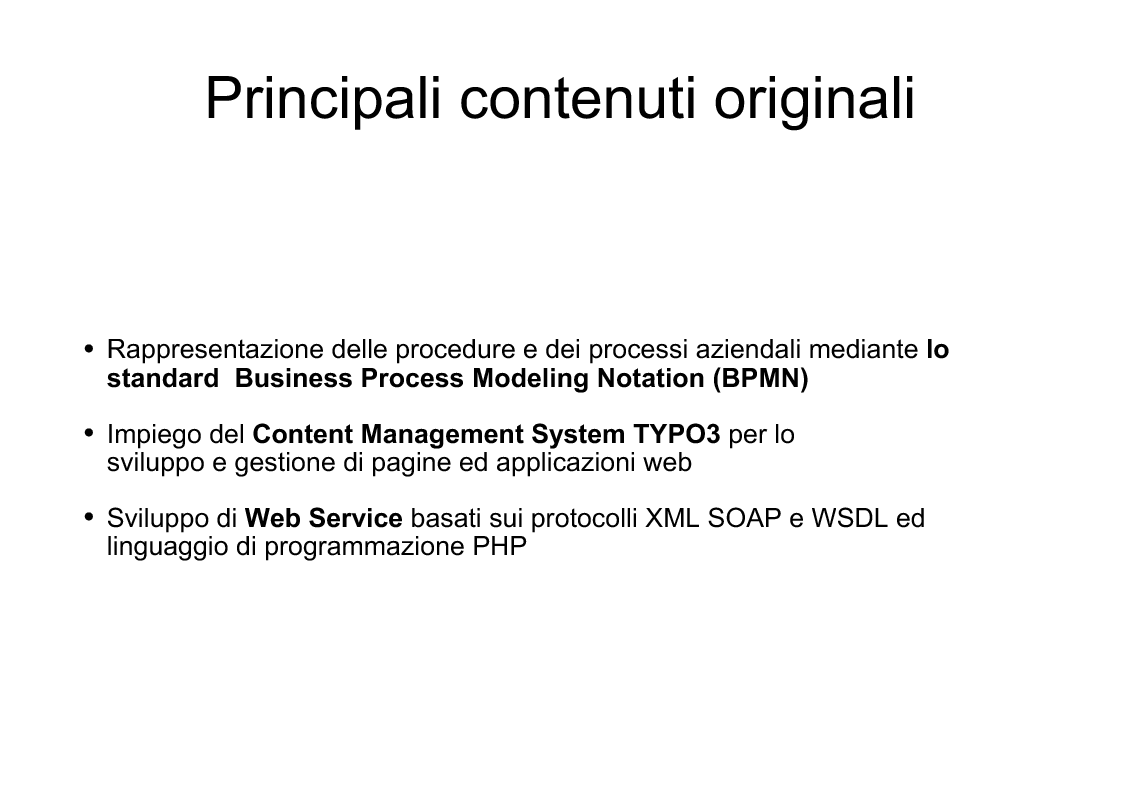 Anteprima della tesi: Applicazioni Internet-based per la gestione dei processi aziendali, Pagina 4