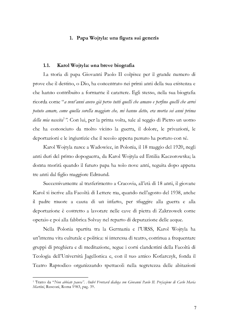 wojtyla dissertation Boczek, macon the methodology of phenomenological realism in the acting person by karol wojtyla electronic thesis or dissertation.