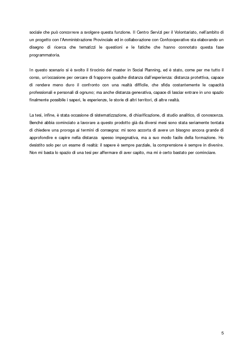 Anteprima della tesi: Welfare Re-Mix considerazioni a sostegno di un dialogo possibile tra bene comune e razionalità limitate, Pagina 2