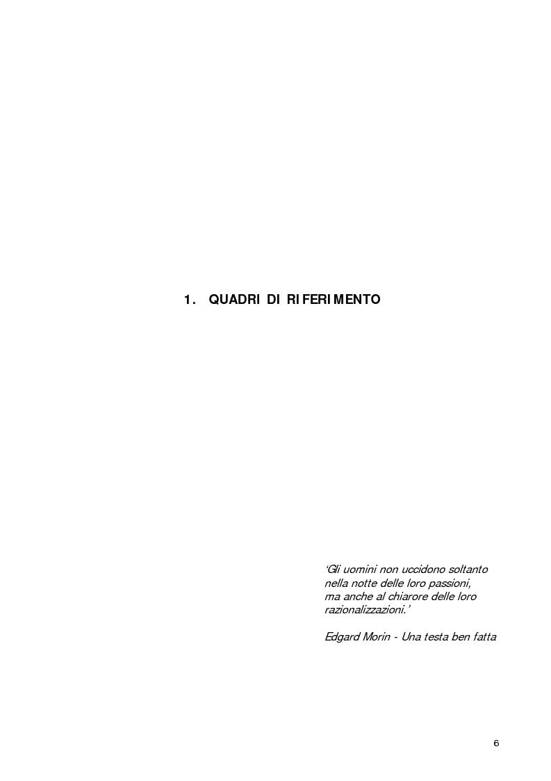 Anteprima della tesi: Welfare Re-Mix considerazioni a sostegno di un dialogo possibile tra bene comune e razionalità limitate, Pagina 3