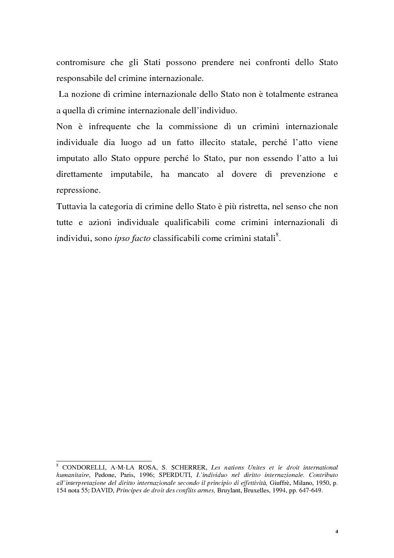 Anteprima della tesi: La repressione dei crimini di guerra: i tribunali ad hoc dell'ex Jugoslavia e del Ruanda, Pagina 4
