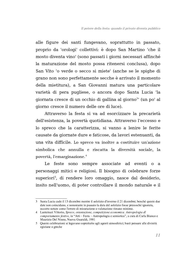 Anteprima della tesi: Il potere della festa: quando il privato diventa pubblico, Pagina 5