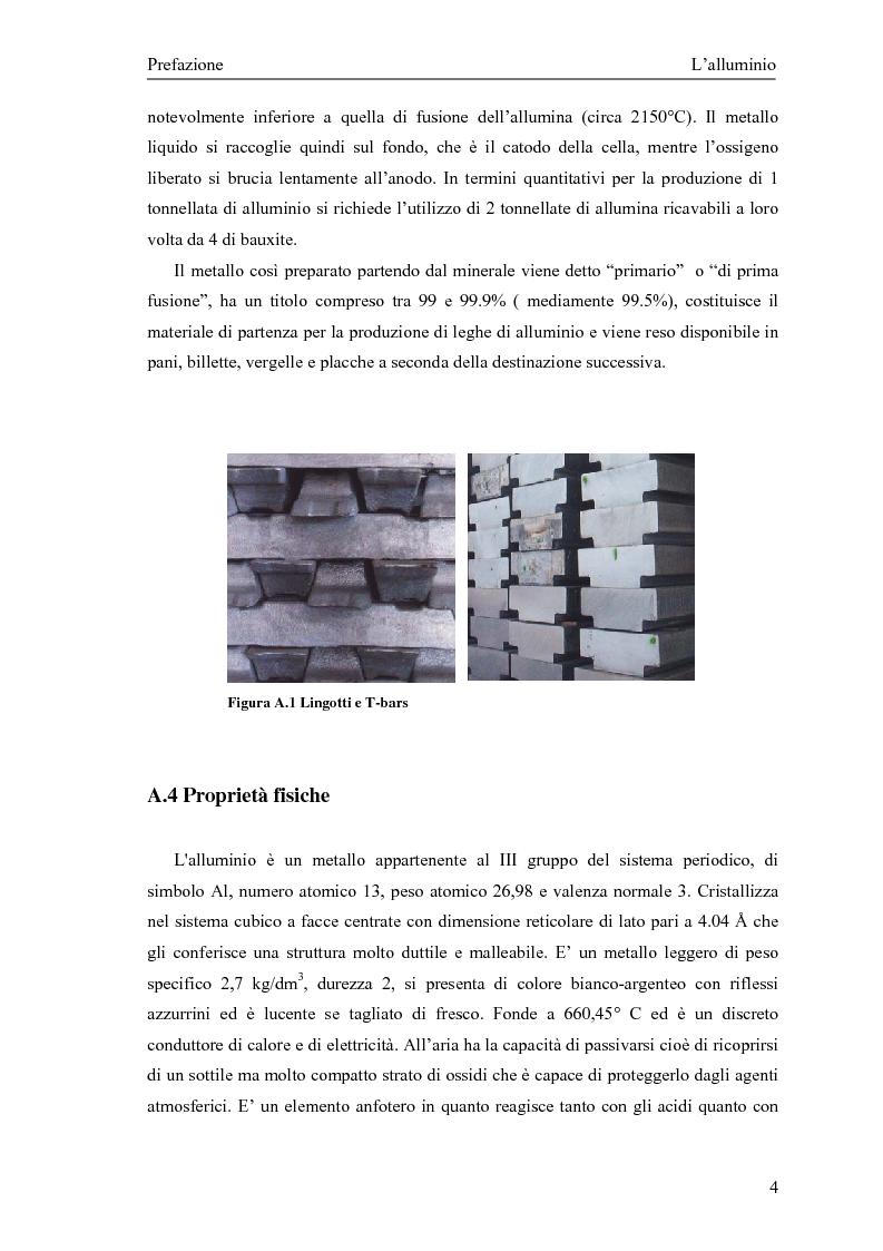 Anteprima della tesi: Valutazione della corretta tipologia di forno fusorio per alluminio secondario, Pagina 4