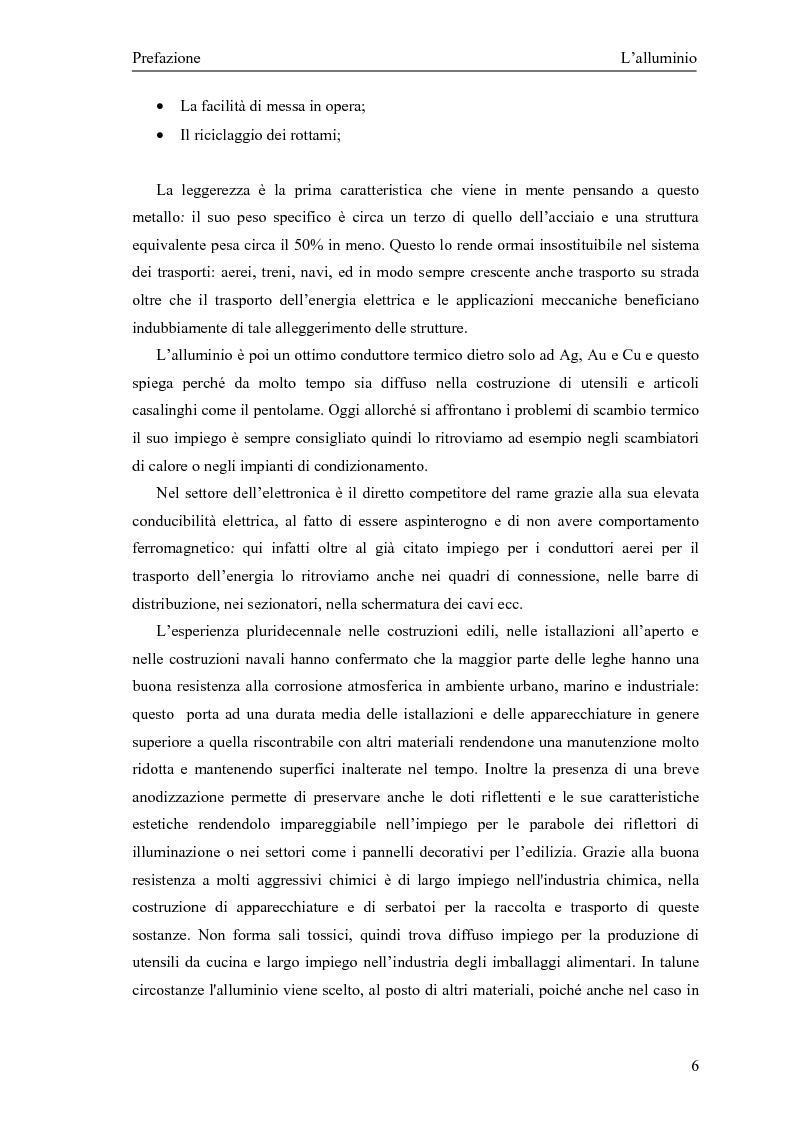 Anteprima della tesi: Valutazione della corretta tipologia di forno fusorio per alluminio secondario, Pagina 6